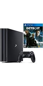 PlayStation 4 Pro ジェット・ブラック 1TB + Detroit: Become Human セット