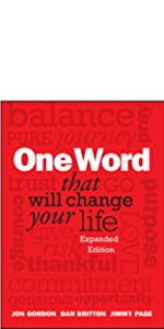 one word change your life, jon gordon, jon gordon books, jon gordon guides, jon gordon fables