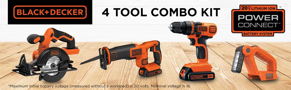 4 Tool Combo Kit