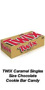 Share a TWIX Cookie Bar with a friend for a real chocolate treat.