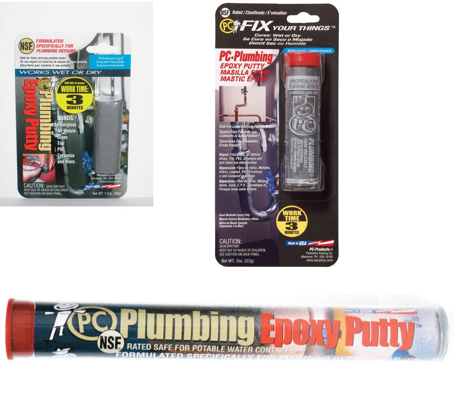 PC Products PC-Plumbing Epoxy Putty, 1oz Stick