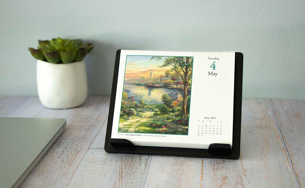 Thomas Kinkade Desk Calendar 2021 Photos