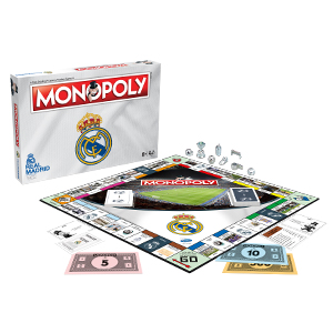 Winning Moves Monopoly Real Madrid CF (63324), Multicolor: Amazon ...