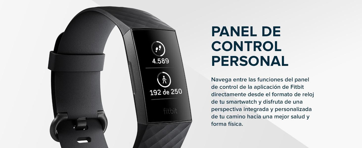 Fitbit Charge 3 Pulsera Avanzada de Salud y Actividad física, Unisex-Adult, Oro Rosa/Morado, Talla Unico