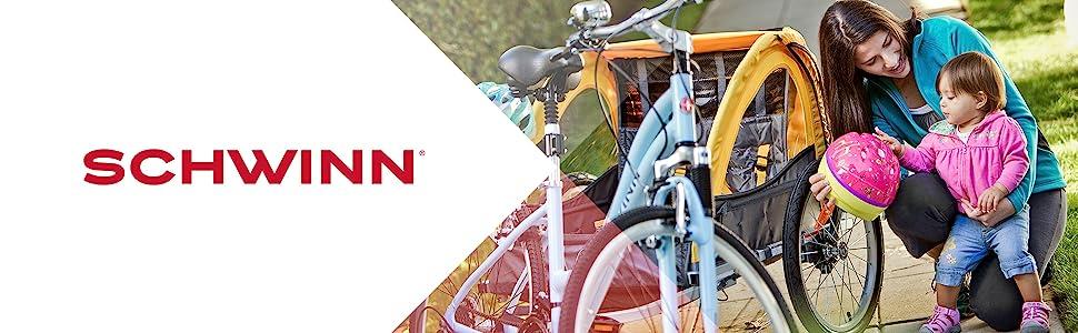 schwinn, trailers, couplers, bike trailers
