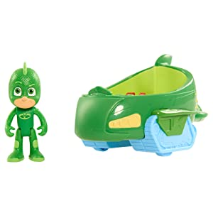gekko and gekko mobile, gekko and gekko car, gecko, green car