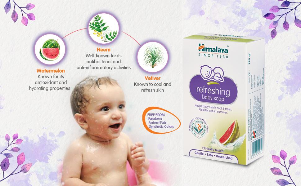 Refreshing Baby Soap