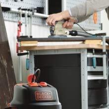 Black+Decker BXVC20XTE Aspirador multiuso de sólidos y líquidos (1400 W, 20 l, Acero Inox) con toma para herramientas eléctricas integrada: Amazon.es: Bricolaje y herramientas