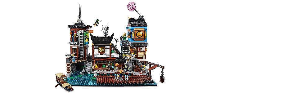 porto, ninjago, city, lego