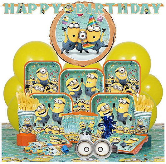 Deluxe Despicable Me Minions Party Supplies Kit for 8 · Despicable Me Minions Party Supplies Kit for 8 · Square Despicable Me Minions Dinner Plates 8ct ...  sc 1 st  Amazon.com & Amazon.com: Unique Despicable Me Minions Party Hats 8ct: Toys u0026 Games