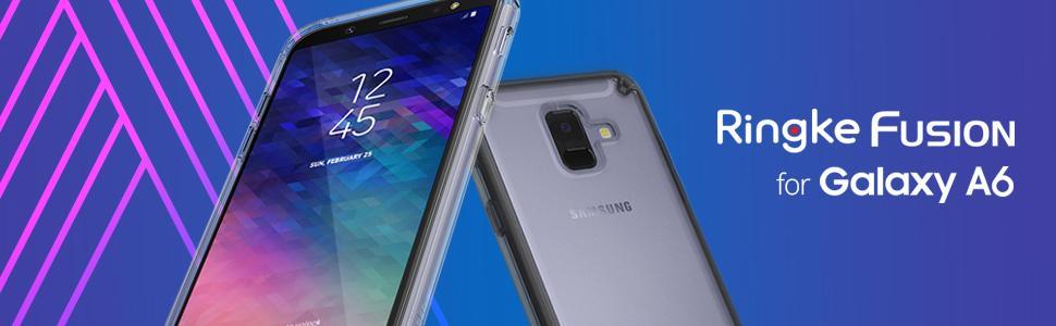 husa Ringke Fusion pentru Samsung Galaxy A6 2018