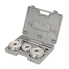 Weights with carry case