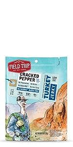 field trip cracked pepper turkey jerky gluten free all natural