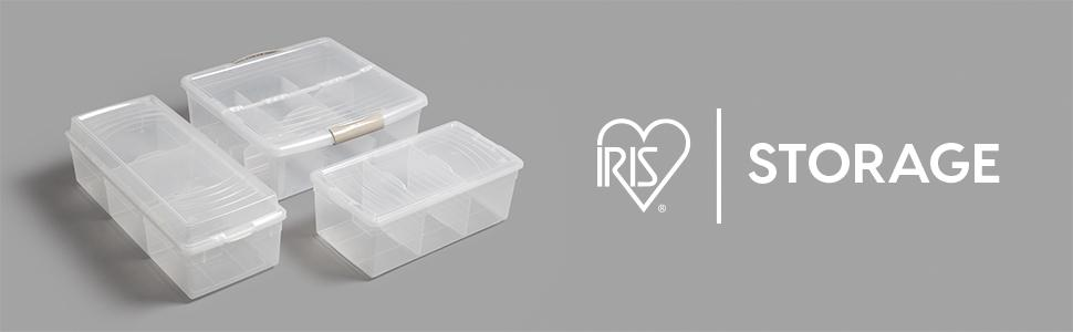 Exceptionnel Small Storage Container, Storage Bin Lid, Shoe Containers, Iris Tote, 12 X