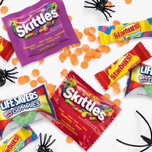 From classroom parties to trick or treat, these candy pieces are great for Halloween.