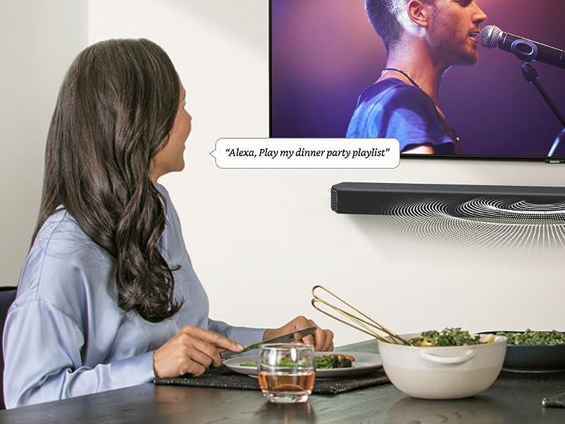 Alexa Built-in Voice Assistant