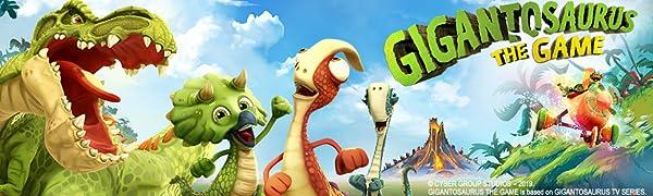 Gigantasaurus Logo