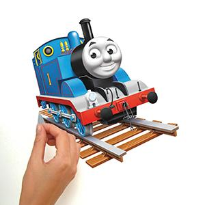 thomas the tank engine peel and stick wall decals, peel and stick wall decals