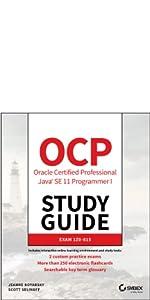 ocp, oracle certified professional exam, ocp java se 11 programmer i exam, ocp study guide