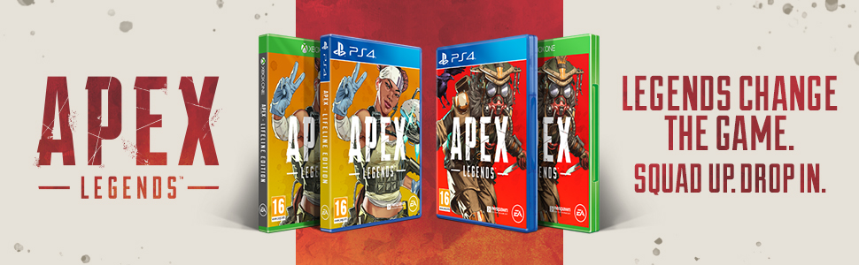 Apex Legends, Bloodhound, Lifeline, Apex