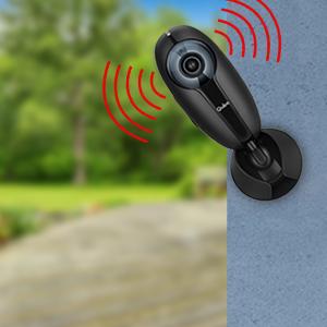 Qubo Home Security Camera, AI Camera; Outdoor/Indoor Camera, Smart Camera, Alexa Enabled Camera
