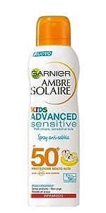 spray solare, spray solare bambini, protezione solare kids, spray effetto antisabbia, anti-sabbia