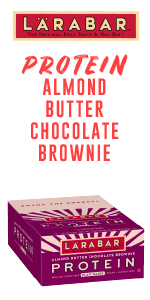 Larabar Almond Butter Chocolate Brownie Protein Bars