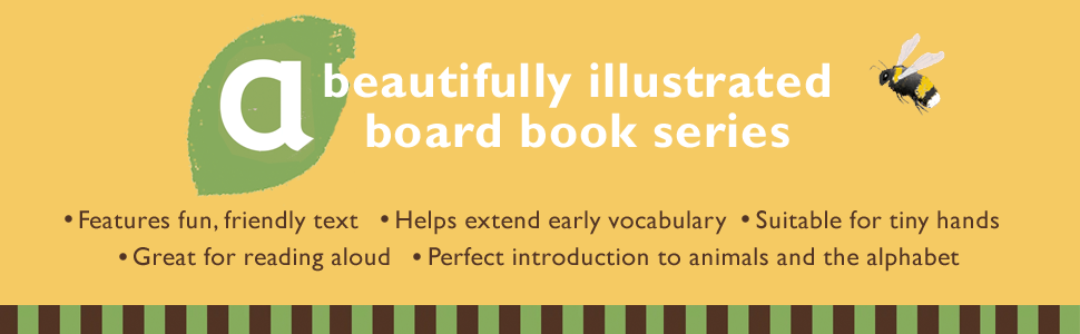 """Image saying """"A Beautifully illustrated board book series"""""""