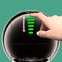NESCAFE DOLCE GUSTO COFFEE, COFFEE MACHINE, CAPSULES, ESPRESSO, POD automatic touch technology