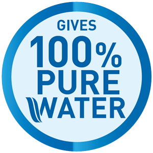 100% Pure water