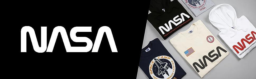 Camisetas de la NASA, sudaderas con capucha, pantalones de chándal para hombre y mujer