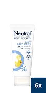 Neutral Baby Body Cream