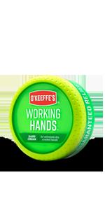 Working Hands Hand Cream Jar