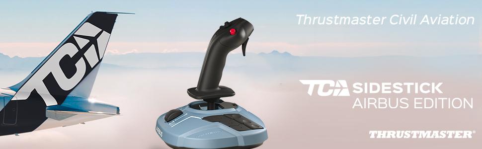 Thrustmaster TCA Sidestick Airbus Edition (Hotas System, T.A.R.G.E.T Software, PC): Amazon.fr: Jeux vidéo