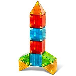 Magna-Qubix Rocket