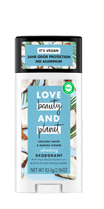 Love Beauty and Planet Coconut Water & Mimosa Flower Refreshing Deodorant