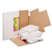 Easy Fold Mailers accomodate a variety of large flat items
