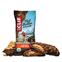 PEANUT BUTTER NUT BUTTER CLIF BAR ENERGY BAR NUT BUTTER FILLED USDA ORGANIC