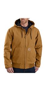 carhartt, mens, jackets, coats, work, workwear