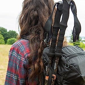 Backpacking trekking poles