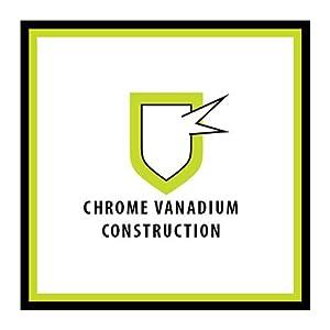 Chrome Vanadium Construction