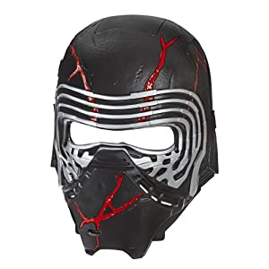 Star Wars Mask Character Disney Vader Yoda Kylo Ren Storm Fancy Dress Face Mask
