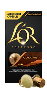 colombia, l'Or coffee, espresso, l'Or Espresso