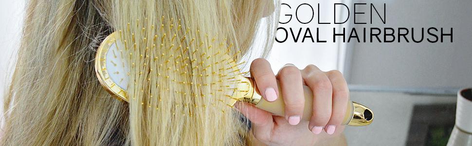 Amazon.com: Evriholder Oval cepillo para polvo De oro – oro ...
