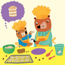 Two Bears Cooking