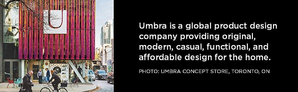 Umbra Flip 5-Hook Wall Mounted Floating Coat Rack – Modern, Sleek, Space-Saving Coat Hanger with 5 Retractable Hooks to Hang Coats, Scarfs, Purses and ...
