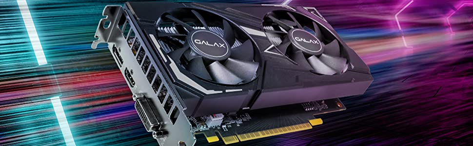 GeForce GTX 1650 EX (1-Click OC)