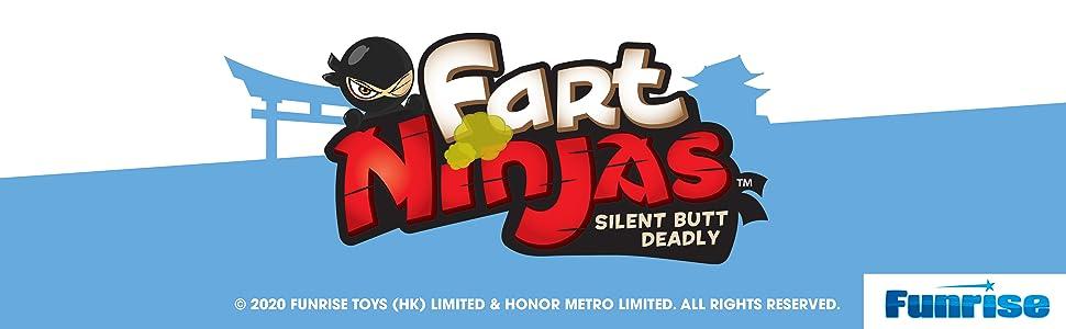 Fart Ninja XL IHIRA FART Figure W//Sound motion Activated Silent Butt Deadly NIB