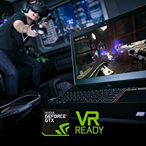 VR Ready gaming laptop