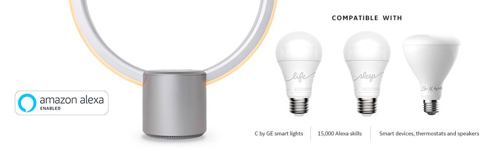 Ge Lighting C By Ge Sol Wifi Connected Smart Light Fixture